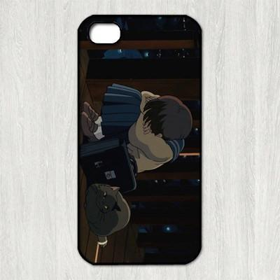 Whisper of the Heart phone case for iphone Type 10 / For iphone 5 Gotamochi BTS MERCH BT21 MERCH KAWAII STORE