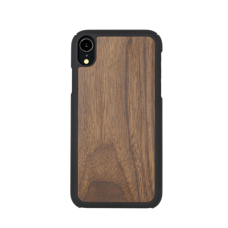 Slim iPhone case - Walnut