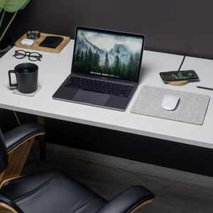 Felt & Cork MousePad - Grey