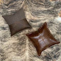 Genuine Leather Pillows