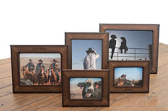 Genuine Leather Custom Picture Frames