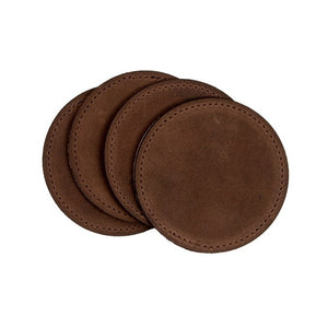 Leather Beverage Coasters
