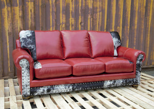 American Outlaw Sofa- Revisionist Heartbeat and HOH
