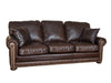 Frontier Sofa - Allure Dark Draft (Cosmopolitan Tooled Accent)