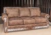 Hamilton Sleeper Sofa - Branch and Hair on Hide