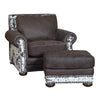 Hamilton Chair - Stallone Timber and Cowhide