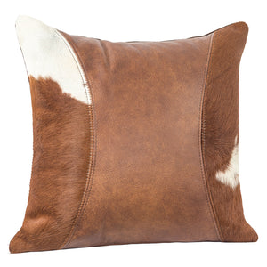 Outlaw Pillow - Warrior Brown Hair on Hide