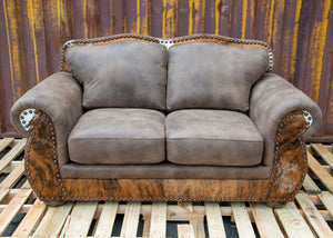 Legend Loveseat - Stallone Timber and HOH
