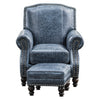 Fireside Chair - Caprieze Denim Blue