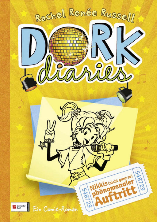 DORK Diaries, Band 03-HarperCollins Germany