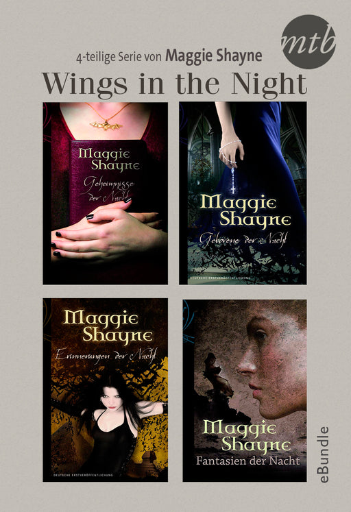 Wings in the Night - 4-teilige Serie von Maggie Shayne-HarperCollins Germany