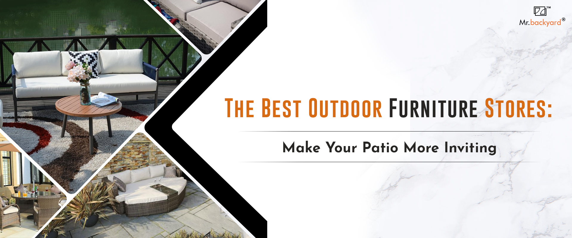The Best Outdoor Furniture Stores: Make Your Patio More Inviting