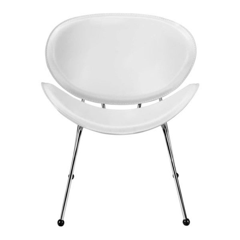 MATCH OCCASIONAL CHAIR White