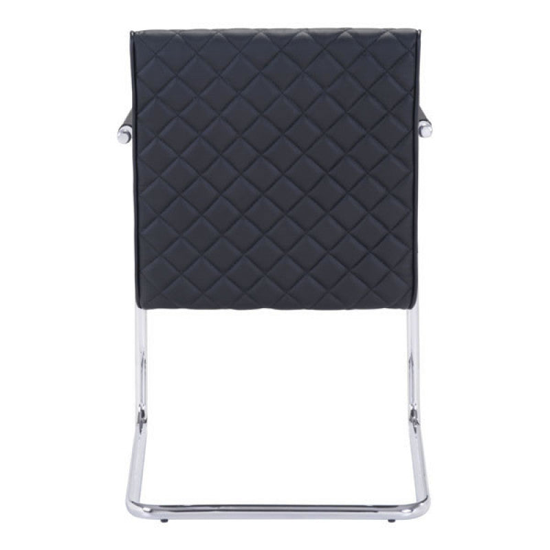 Quilt Dining Chair Black