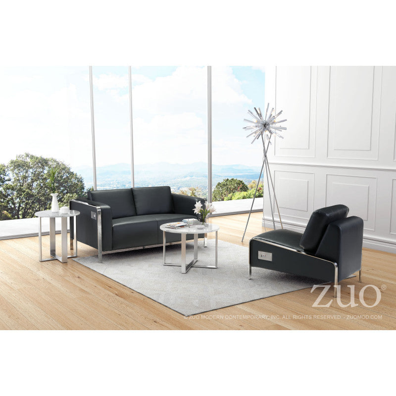Thor Loveseat Black