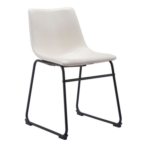 Smart Dining Chair Distressed White