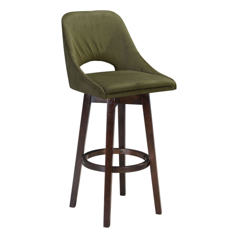 Ashmore Bar Chair Emerald Green
