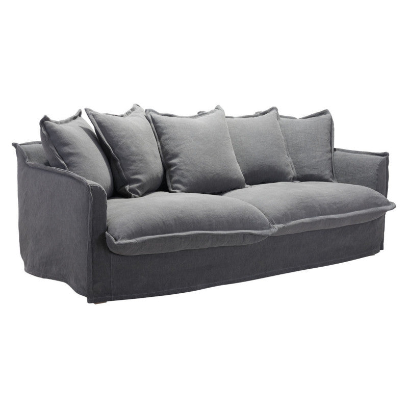 LIVINGSTON SOFA Charcoal Gray