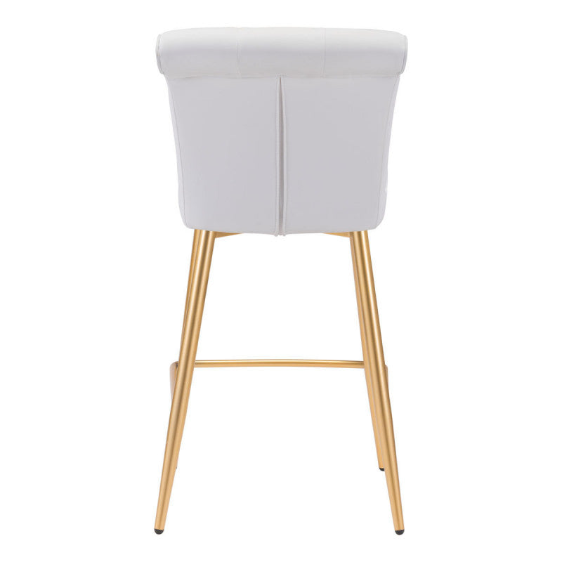 Niles Counter Chair White