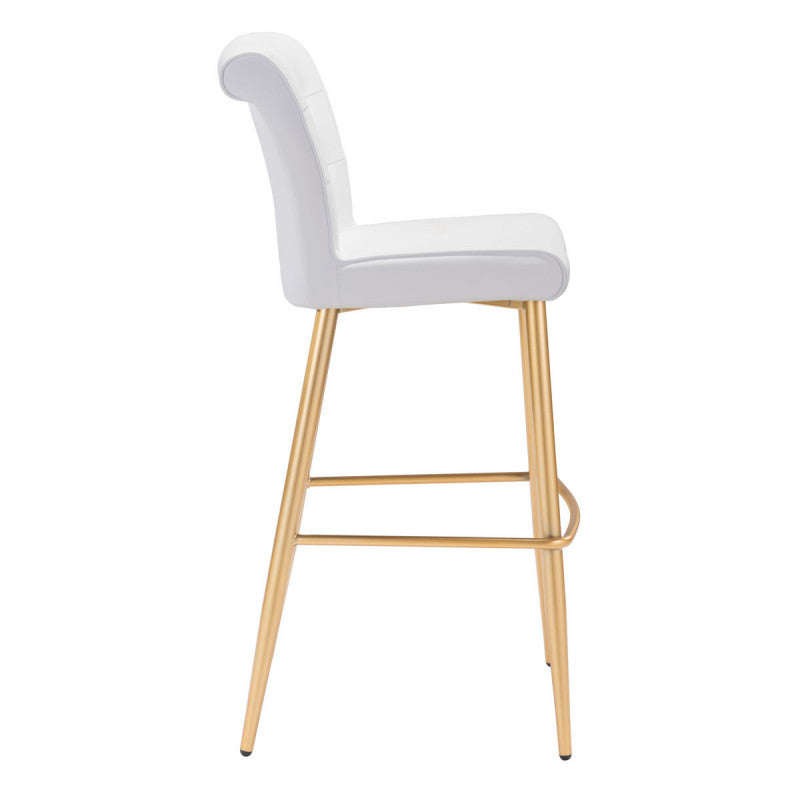 NILES BAR CHAIR White