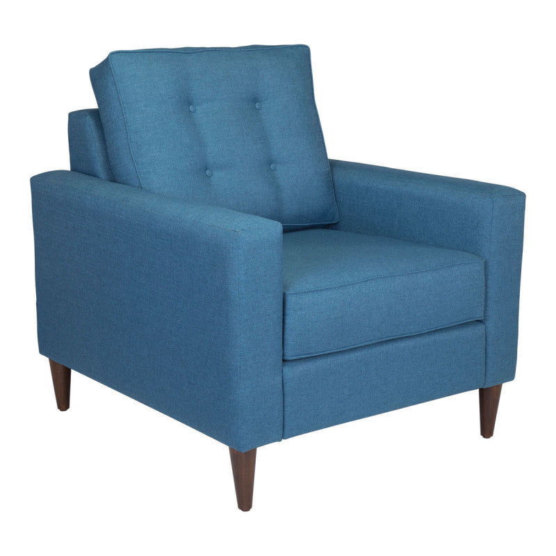 Morgan Arm Chair Blue