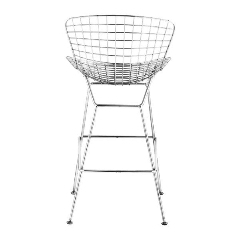 Wire Bar Chair Chrome