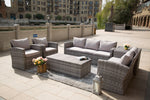 Six piece Probasco sofa set by Mr. backyard with free shipping and zero percent financing available.
