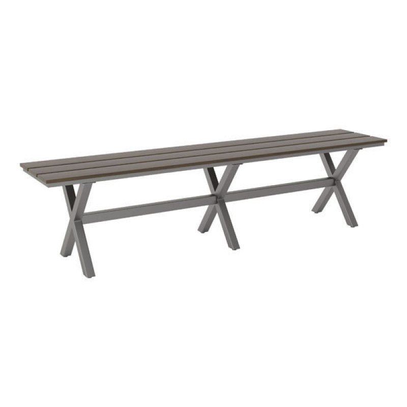 Bodega Bench Ind. Gray & Brown