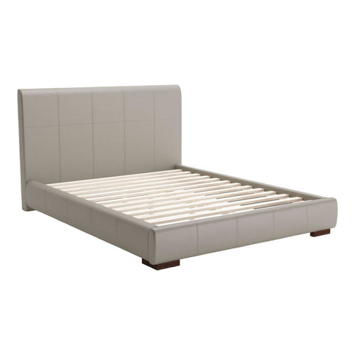 Amelie Queen Bed Gray