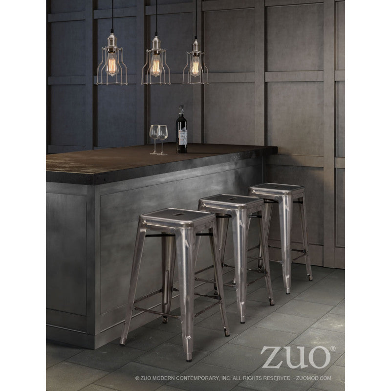 Marius Counter Stool Gunmetal
