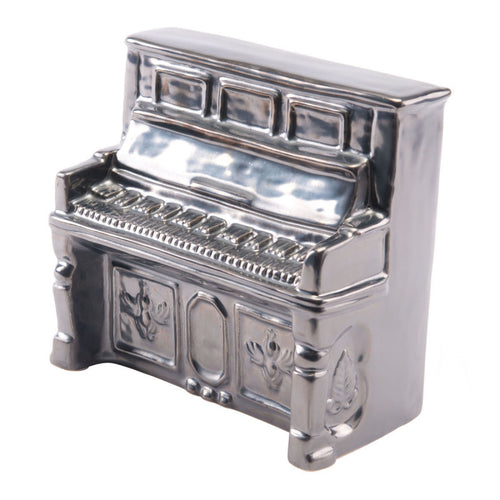 Antique Piano Metallic Gray