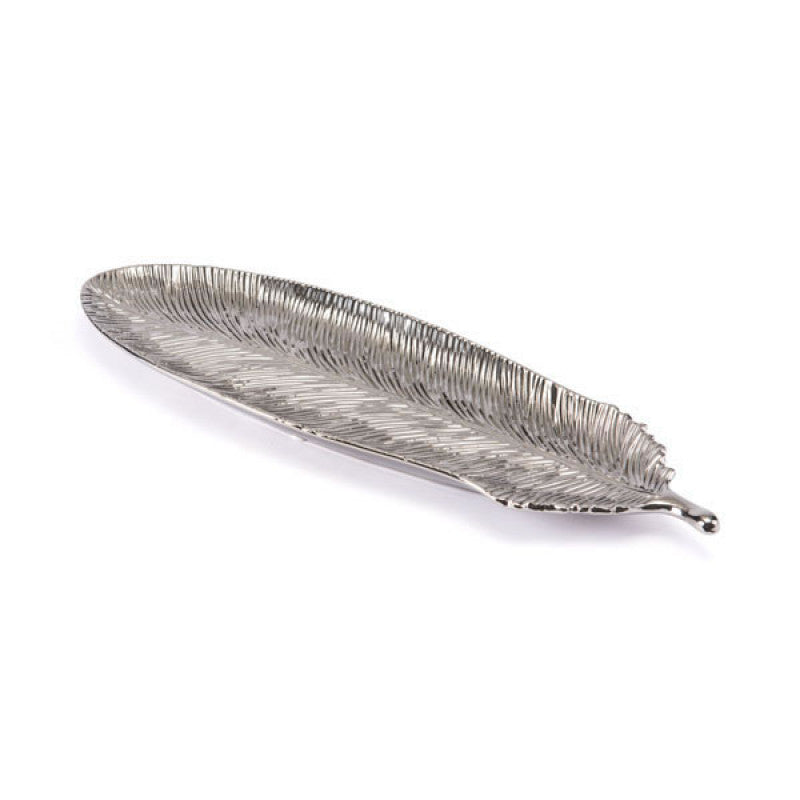 Silver Feather Lg Silver