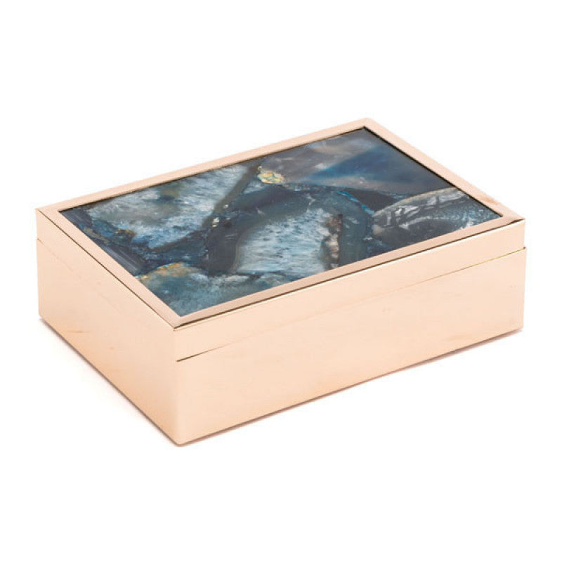 Blue Stone Box Lg Blue