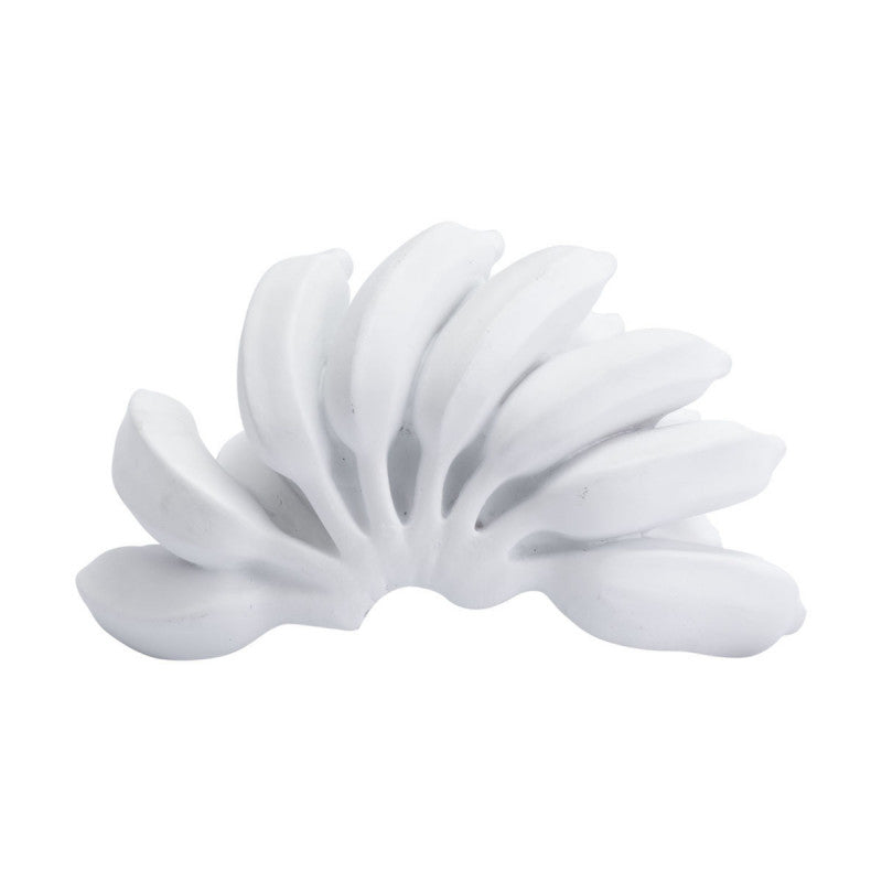 Bananas Bowl Decor White