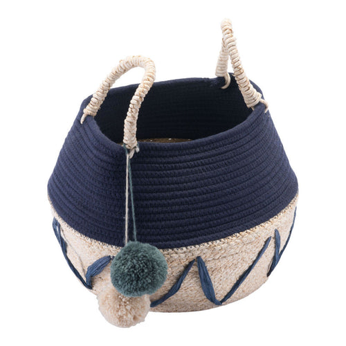 Minna Basket With Handles Multicolor