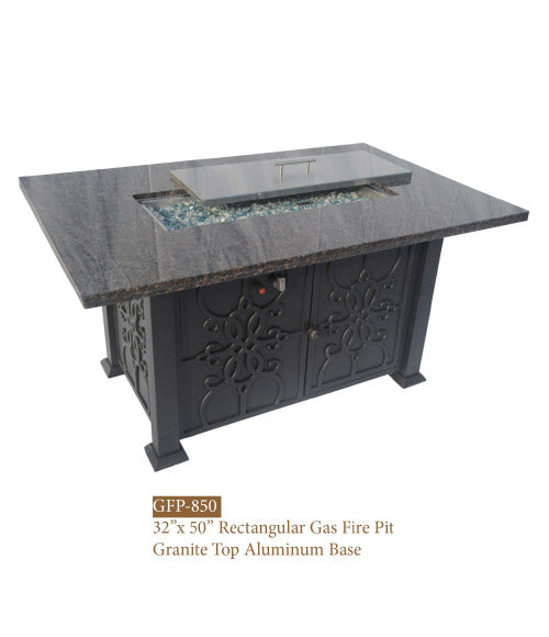 Aberdeen fire table by DWL furniture and sold by Mr. backyard online.