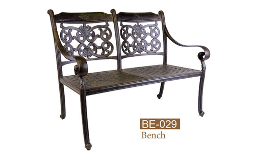Fully Welded Love Bench 2pc