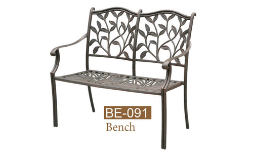 Fully Welded Bench 2pc