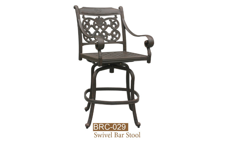 Welded Swivel Bar Stool 2pc