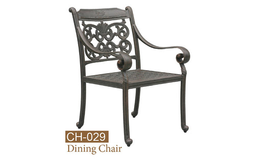 Fully Welded Dining Chair 2pc