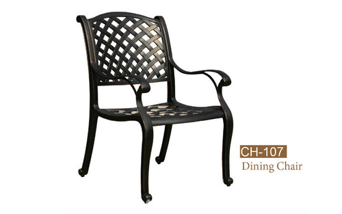 Dining Chair.  KD 2pc
