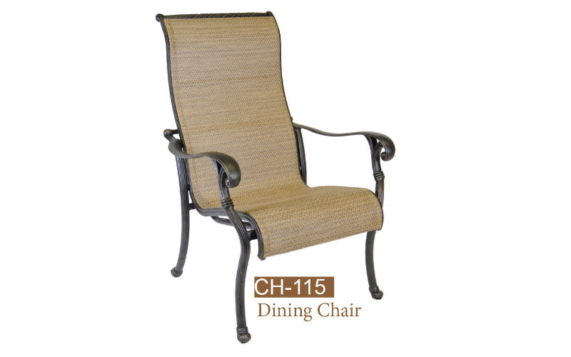 Fully Welded Sling Dining 4pc