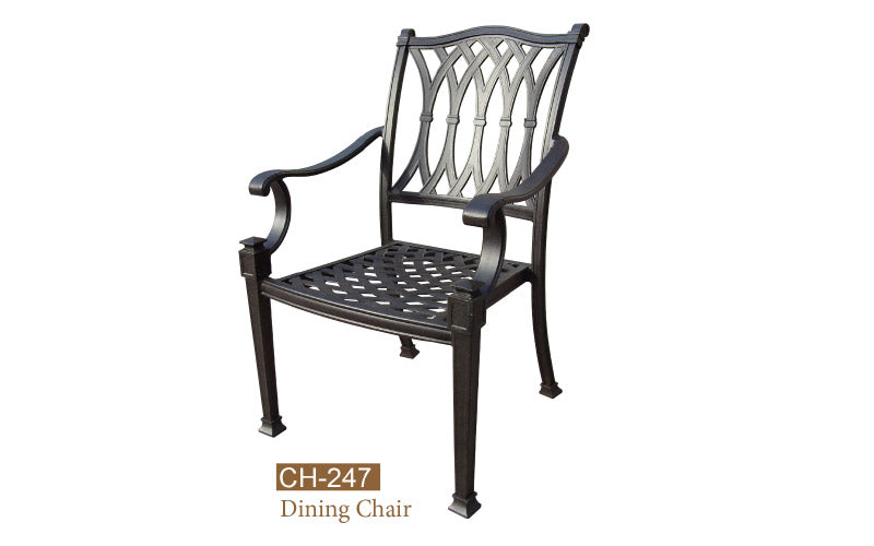 Fully Welded Daning Chair 4pc