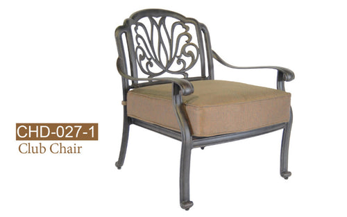 Fully Welded Deep Seating Arm Chair 2pc