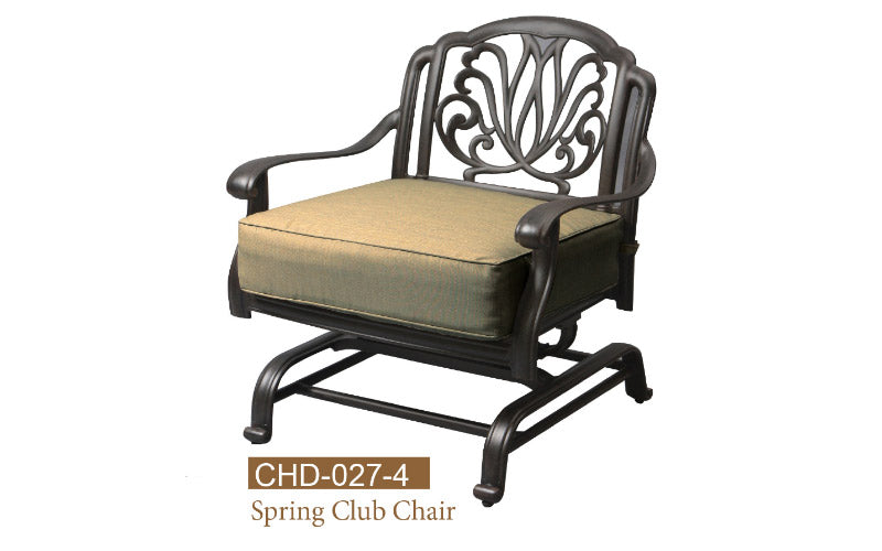 Fully Welded Spring Club Chair 2pc