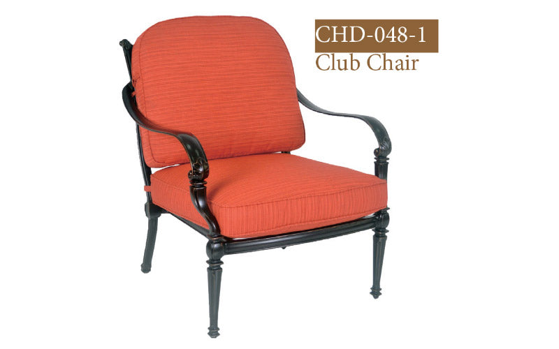 Fully Welded Deep Seating Club 2pc