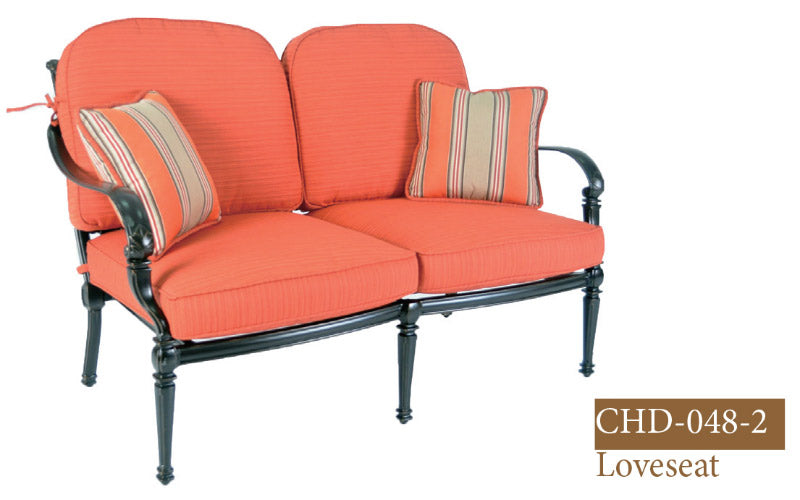 Fully Welded Deep Seating Loveseat 2pc