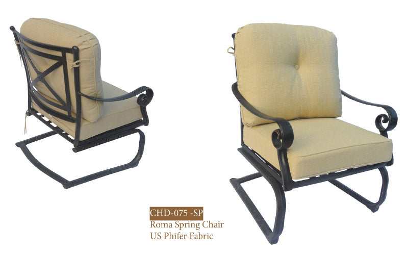 Roma Spring Chair 2pc