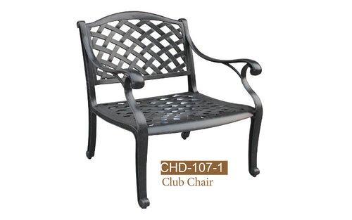 Deep Seating Club Chair 1pc
