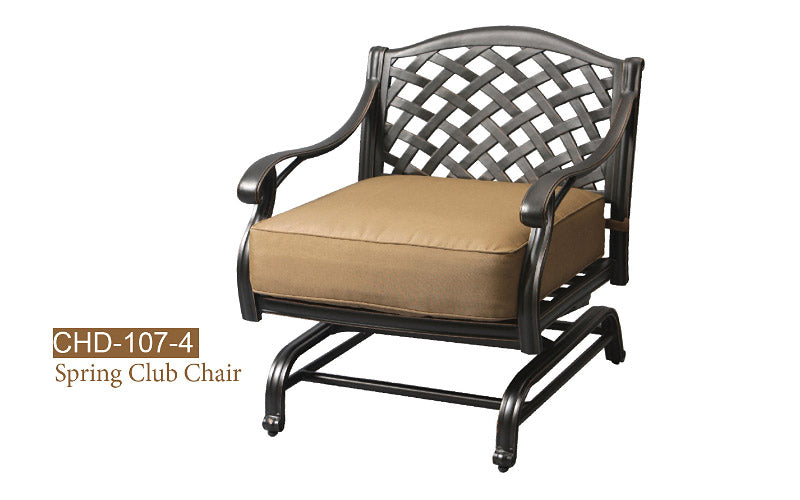Fully Welded Spring Club Chair 1pc